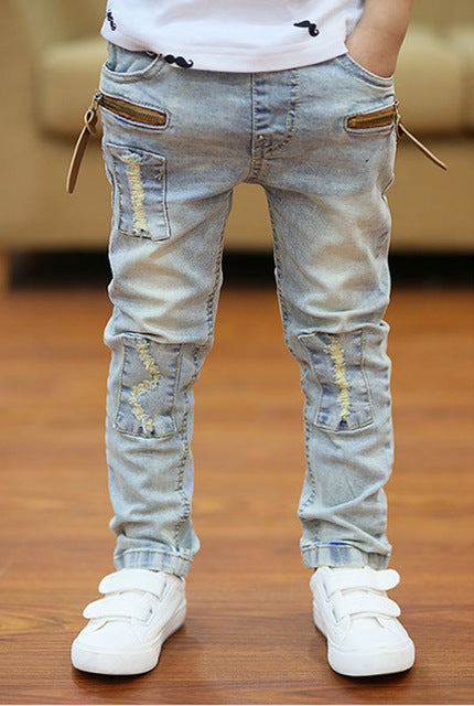 Kids Slim Straight Jeans
