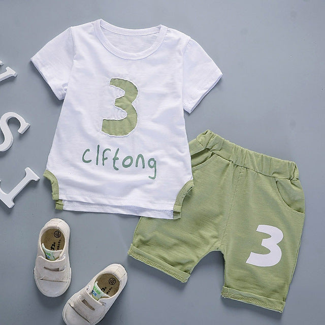 3PC Cotton Kids Clothing