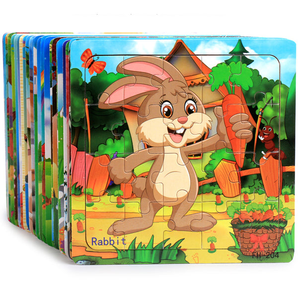 Puzzles For Kids 20 Pieces