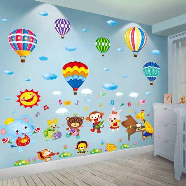 Air Balloon Wall Stickers Decoration