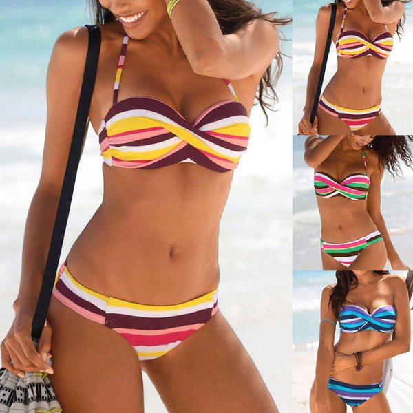 Push Up Bandeau Bikini