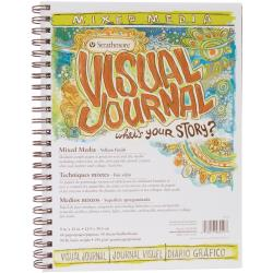 "Strathmore - Visual Journal - Mixed Media Vellum finish paper 9""X12"""