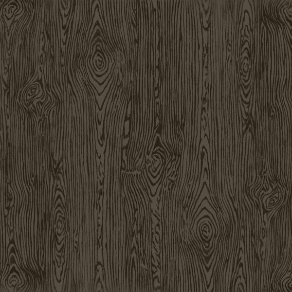 American Crafts - Textured Cardstock - Black Woodgrain