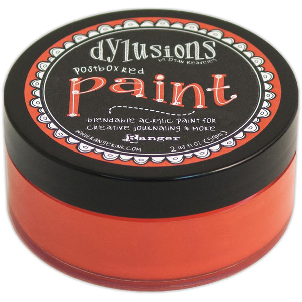 Dyan Reaveley - Dylusions Paint - Postbox Red