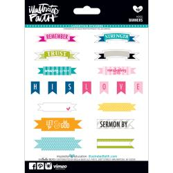 "Bella Blvd. - Illustrated Faith - Genesis Stickers - Banners 5""X7"""