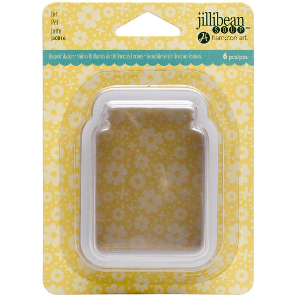 Jillibean Soup - PVC Card Shakers 6/Pkg - Jar