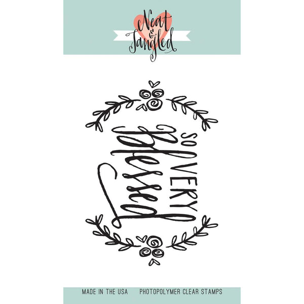 Neat & Tangled - Clear Stamps - So Very Blessed