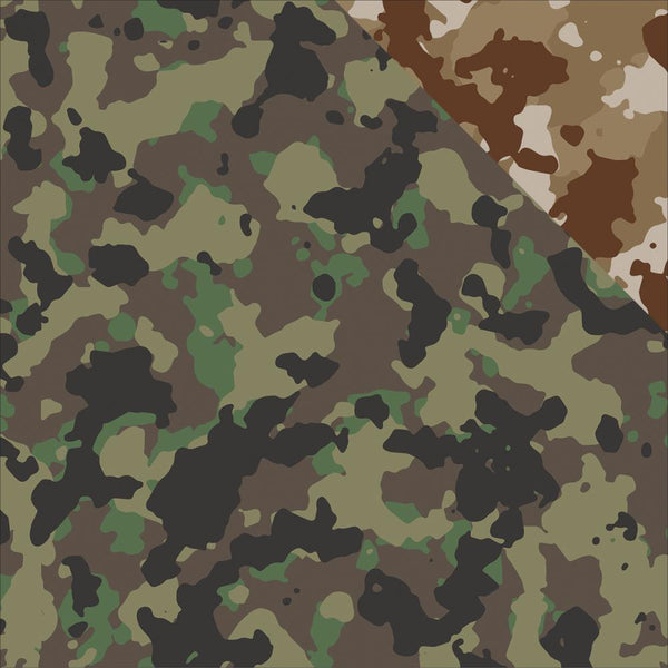 Reminisce - 12x12 Patterned Paper - Hunter's Camo