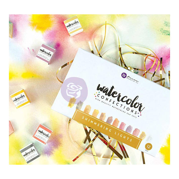 Prima Marketing - Watercolour Confections - Shimmering Lights set