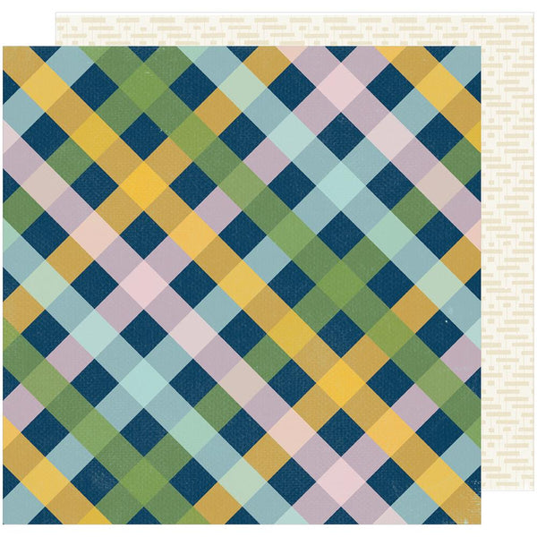 American Crafts - Shimelle - Go Now Go - Picnic -  12x12 Patterned Paper