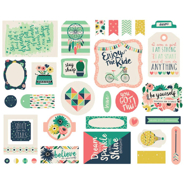 Echo Park - Just Be You - Ephemera die-cuts 33/pcs