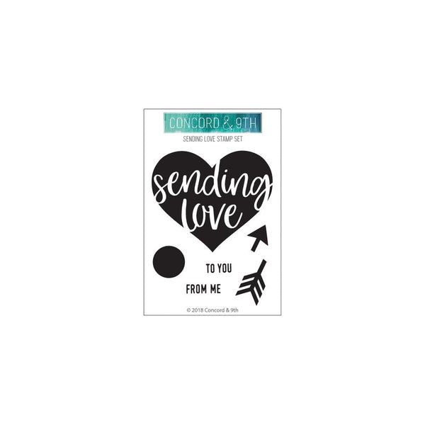 Concord & 9th - Sending Love - Stamp Set