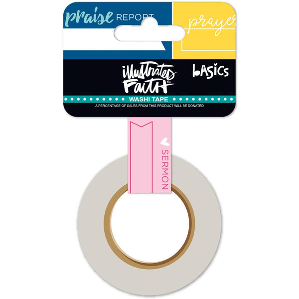Bella Blvd - Illustrated Faith - Document It washi tape 1""