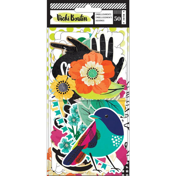 Vicki Boutin - Colour Kaleidoscope - Ephemera Pack