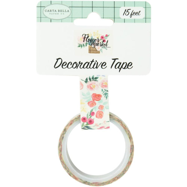 Carta Bella - Flower Market - Flower Bouquet Decorative Tape