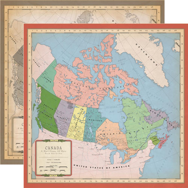 Carta Bella - Cartography - Canada Map