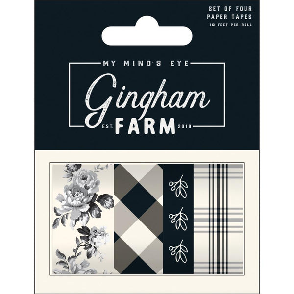 My Mind's Eye - Gingham Farm - Washi Tape set