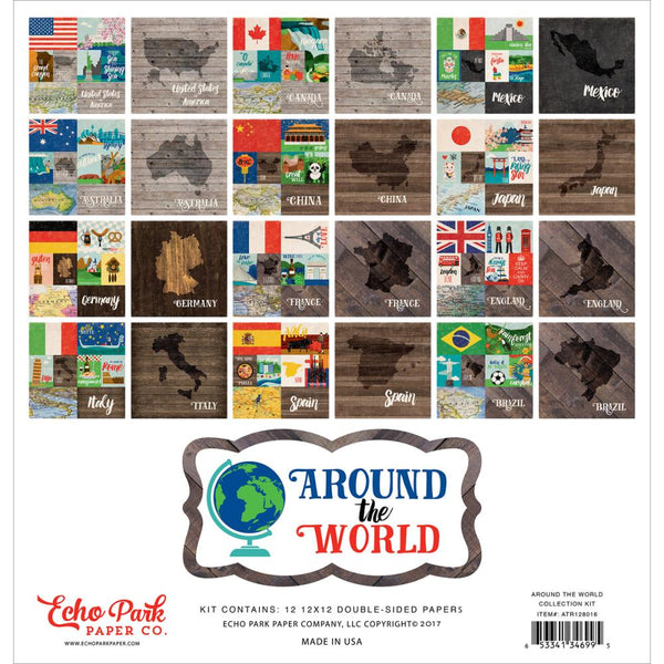 Echo Park - Around the World - Collection Kit