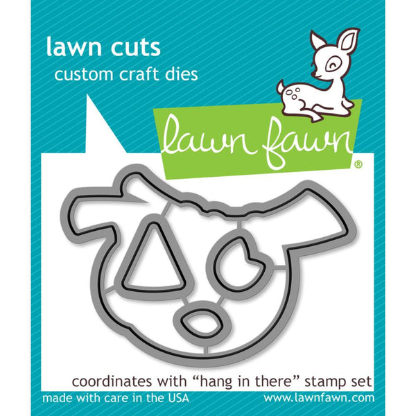 Lawn Fawn - Lawn Cuts - Hang In There dies set