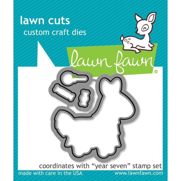 Lawn Fawn - Lawn Cuts - Year Seven die set