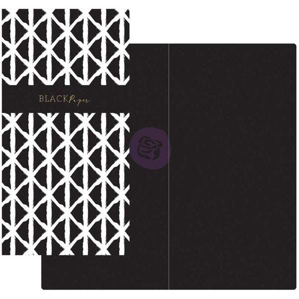 Prima - Traveler's Journal - Notebook Refill - Black Paper