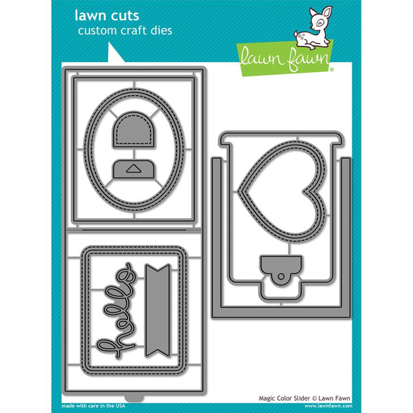 Lawn Fawn - Lawn Cuts - Magic Colour Slider die set