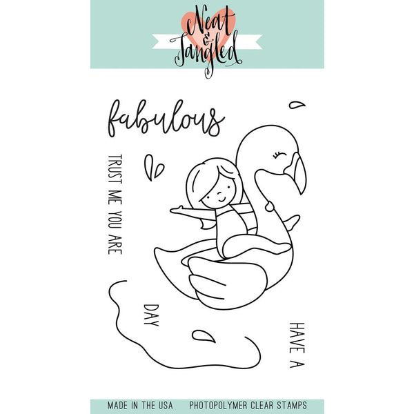Neat & Tangled - Clear Stamps - Flamingo Floatie
