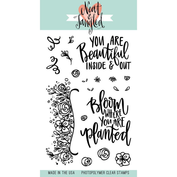 Neat & Tangled - Clear Stamps - Bloom
