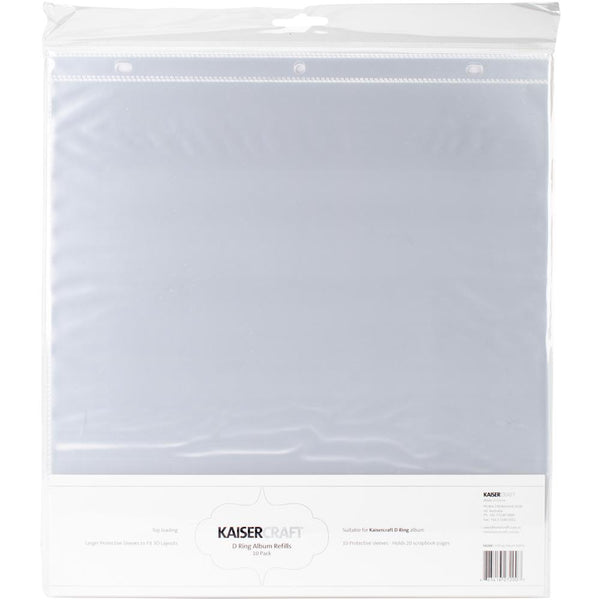 Kaisercraft - D-Ring Album Refill - 10 pack