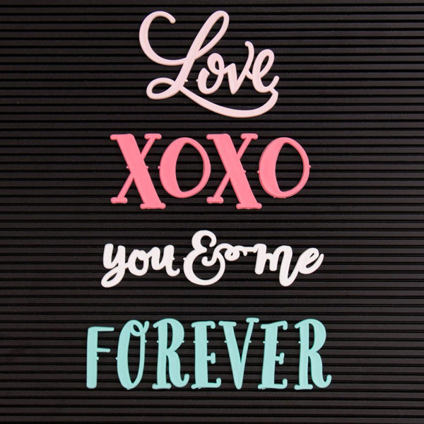 DCWV - Letterboard Words - Love