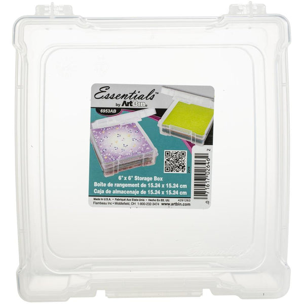 ArtBin - Essentials - 6 x 6 Storage Box
