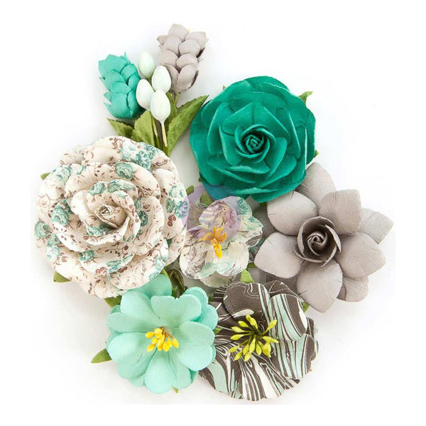Prima Marketing - Zella Teal - Wanderer Flowers
