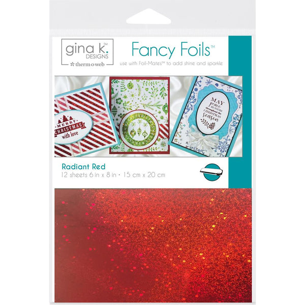 Therm-O-Web - Gina K Designs - Fancy Foils - Radiant Red