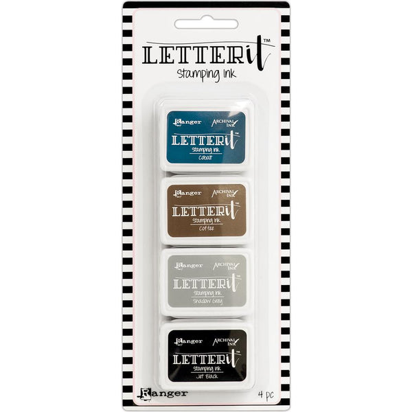 Ranger - Letter It - Stamping Ink Set 1