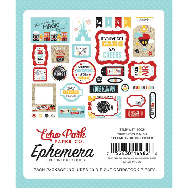 Echo Park - Wish Upon a Star - Ephemera pack