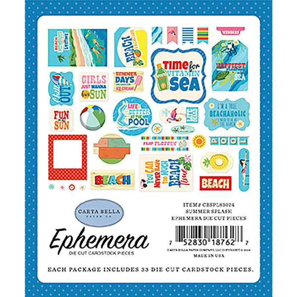 Carta Bella - Summer Splash - Ephemera
