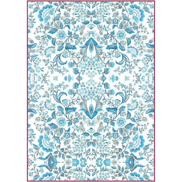 Stamperia - Decoupage Rice Paper - Blue Arabesque