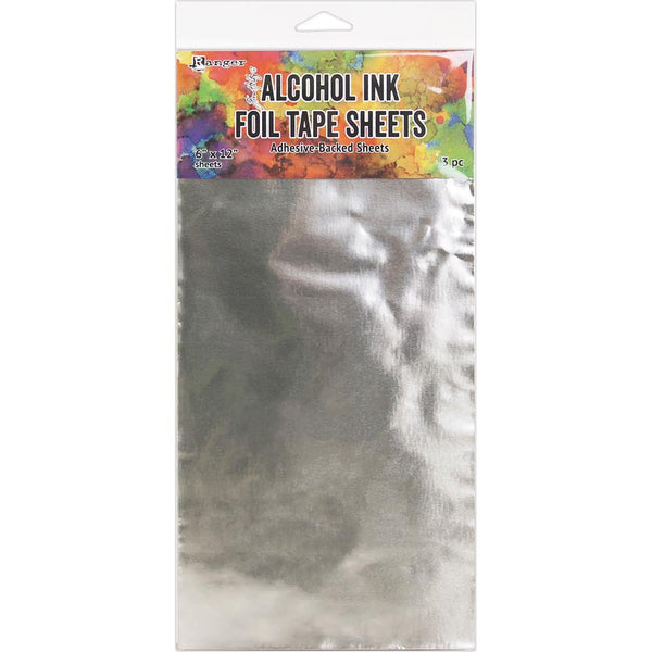 "Ranger - Tim Holtz - Alcohol Ink - Foil Tape Sheets 6""x12"""