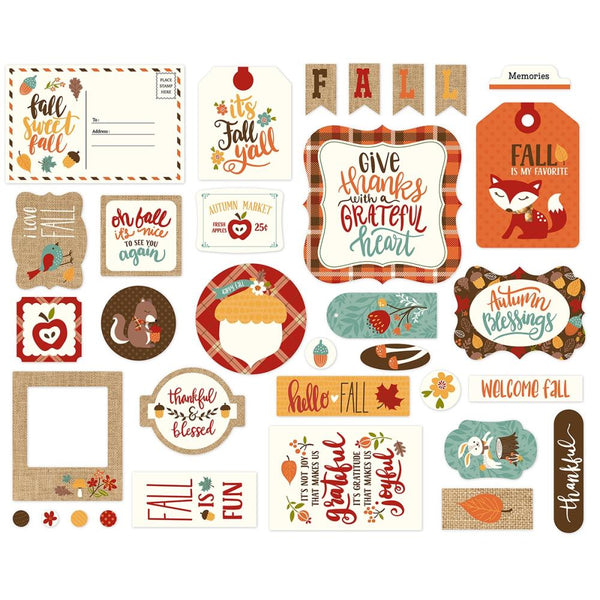 Echo Park - Celebrate Autumn - Ephemera pack