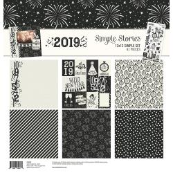 "Simple Stories - 2019 - Simple Sets Collection Kit 12""X12"""