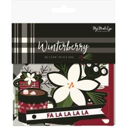 My Mind's Eye - Winterberry - Mixed Bag Cardstock Die-Cuts 56/Pkg