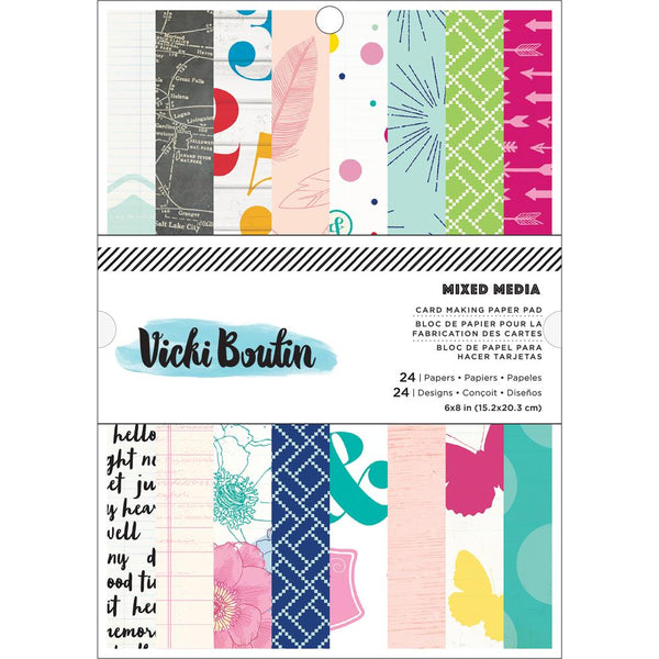 Vicki Boutin - Mixed Media - 6x8  paper pad