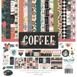 "Echo Park - Coffee - Collection Kit 12""X12"""