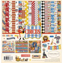 "Carta Bella - The Circus -  Collection Kit 12""X12"""