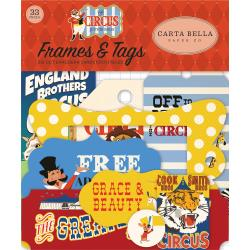 Carta Bella - The Circus - Frames & Tags pack