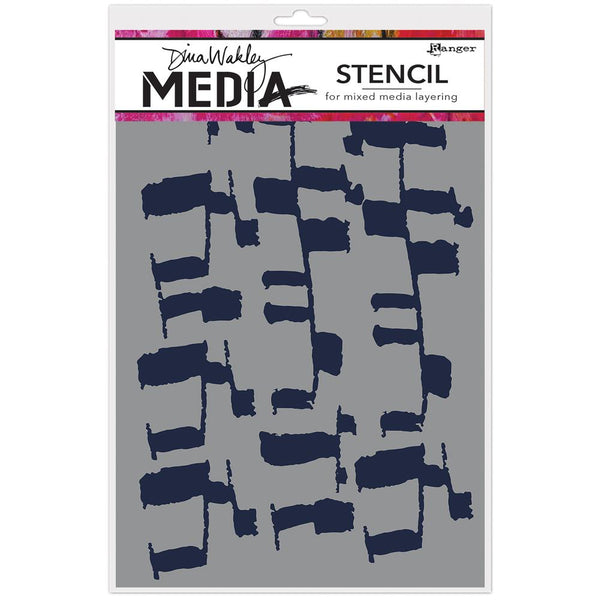 Dina Wakley Media - Ladders Stencil
