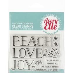 Avery Elle - Clear Stamp - Sending Peace