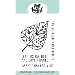 Neat & Tangled - Clear Stamps - Birch Leaf
