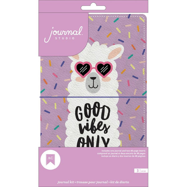American Crafts - Journal Studio - Llama Journal Kit