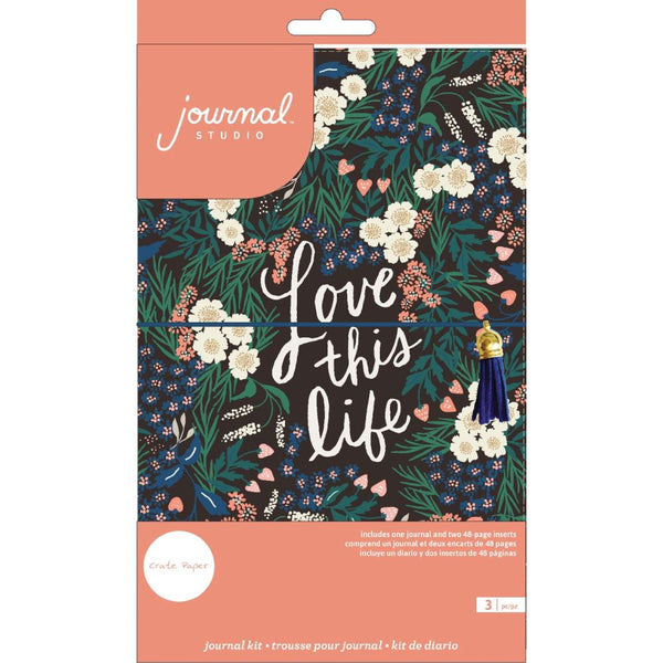 Crate Paper - Journal Studio - Love This Life Journal Kit